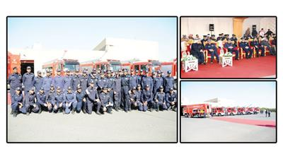 «الاطفاء» تدشن 14 آلية جديدة بقيمة 6 ملايين دينار