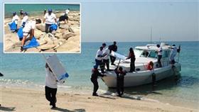 إنطلاق حملة تنظيف الشواطئ والجزر الكويتية