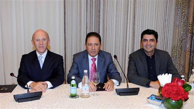 د.غسان زين متحدثا في افتتاح مركز بيفرلي