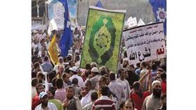جانب من تظاهرات «مليونية الشريعة»