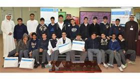 «الدولي» يقدم محاضرة تثقيفية لطلبة مدرسة سعيد بن العاص