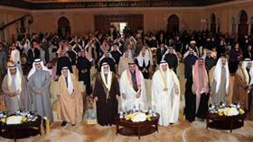 جمال الشهاب ويوسف الحجي وعبدالمحسن الخرافي وقيادات الاوقاف والحضور