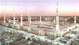رخام مضاد للحرارة في ساحات المسجد الحرام