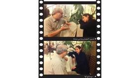 حسين المفيدي يواسي زوجته - .. ويستمع لها