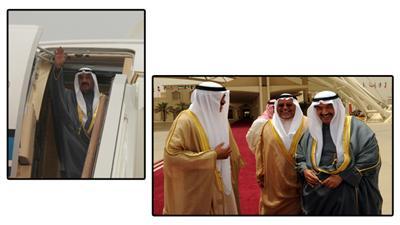ناصر المحمد يمثل الأمير في احتفالية ذكرى تولي اليزابث الحكم