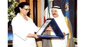 سمو الأمير أشاد بجهود الشيخة أمثال في مجال البيئة