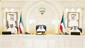 سمو رئيس الوزراء مترئساً الاجتماع بحضور الشيخ أحمد الخالد والشيخ صباح الخالد