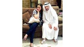 احدث صورة للخطيبين حسين العبدالله وغدير صفر