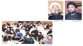 الحسينيات تواصل إحياء ذكرى عاشوراء