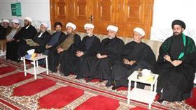 السيد أحمد الديباجي وعدد من رجال الدين