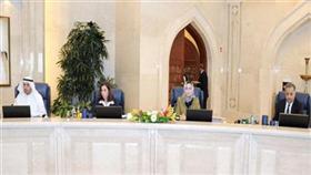الوزراء د.محمد الهيفي وذكرى الرشيدي ود.رولا دشتي ود.نايف الحجرف