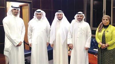 جمعية أعضاء هيئة التدريس بالجامعة التقت الوزير المعوشرجي