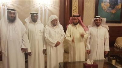 د.سعد البريك ود.وليد الشعيب وخالد الحيص ومدعث العجمي