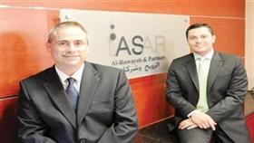 روب ليتل وجون كونها الشريكان في «ASAR»
