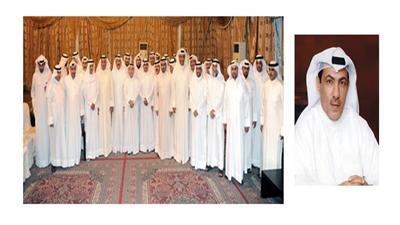 علي الشمري - صورة جماعية لمسؤولي وموظفي الشركة