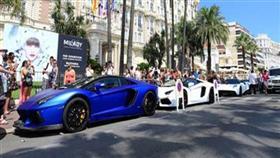 بالفيديو والصور.. سيارات الأثرياء العرب «تغزو» كان الفرنسية خلال فصل الصيف