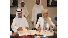 الوتيد والعمر خلال توقيع الاتفاقية