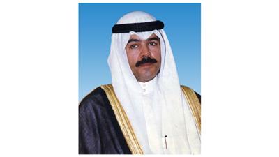 وزير الداخلية الشيخ محمد الخالد