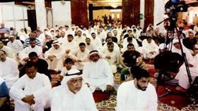الحضور في جامع الإمام زين العابدين