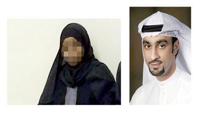 المحامي بشار النصار - القاتلة خلال جلسة الحكم