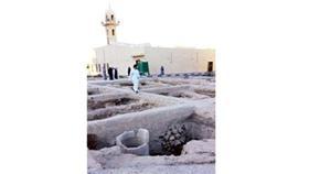البيوت الكويتية القديمة ويبدو «الجليب» داخل البيت