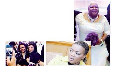 لماذا غابت المطربة فطومة عن حفل زفاف مديرة أعمالها هدى الياقوت؟!