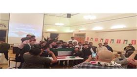 حمد الحماد يثمّن دور قائمة «الوحدة الطلابية» في تنظيم العديد من الانشطة والفعاليات للطلبة