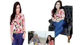 هدى صلاح: أنا تونسية ولا أخفي جنسيتي وما عندي عقدة نفسية
