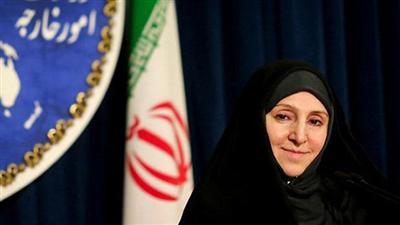 المتحدثة باسم وزارة الخارجية الايرانية مرضية افخم