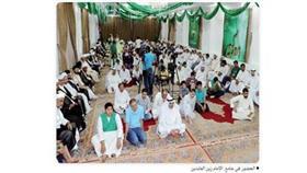 احتفال ديني بذكرى الإمام المهدي