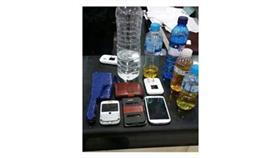 القبض على شخصين بـ«مُسكرات» وساطور في قبضة الأمن