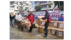 «الهلال الأحمر الكويتي» تواصل مشروع الرغيف للاجئين السوريين في لبنان