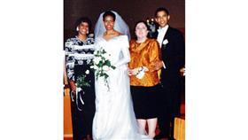 صور نادرة من حفل زفاف باراك أوباما