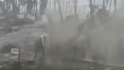 فيديو - إعصار «ميلور» يُجلي مئات الآلاف من السكان في الفلبين