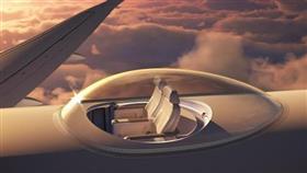 بالصور - مقاعد جديدة في الطائرات تمنح رؤية كاملة 360 درجة