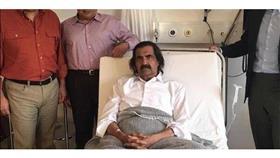 هكذا أصيب أمير قطر السابق بكسر في ساقه