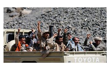 «الخليجي» يطالب بتدخل عسكري في اليمن