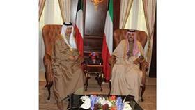 ولي العهد استقبل الغانم ورئيس الوزراء وصباح ومحمد الخالد والجراح