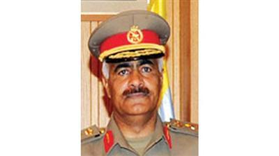 عودة رئيس الأركان العامة من السعودية