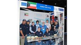 فريق الغوص: مشاركتنا بمعرض (لندن) الدولي ركزت على العطاء الكويتي للبيئة