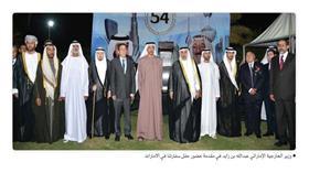 وزير الخارجية الإماراتي عبدالله بن زايد في مقدمة حضور حفل سفارتنا في الامارات