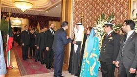 سفير دولة الكويت لدى ايران مجدي احمد الظفيري مستقبلا المهنئين