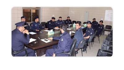 تعاون قطاعات الإطفاء للقضاء على مخالفات محافظة الجهراء