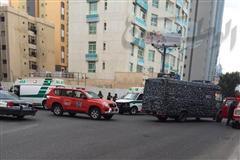 حقيبة يد مشبوهة تستنفر الأجهزة الأمنية وتخلي فندقاً بـ «بنيد القار» (فيديو)