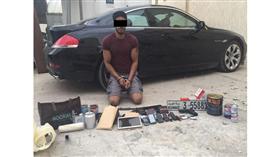 القبض على «بدون» ارتكب أكثر من 23 جنحة وجناية