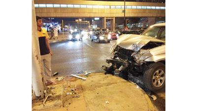 إصابة يمنية ونجاة مصري بحادث ثنائي في حولي