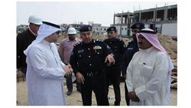 «فيديو»  انهيار سقف مسجد قيد الإنشاء ووفاة عامل مصري وإصابة 5 آخرين