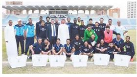 «الدولي» يزور نادي السالمية الرياضي