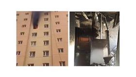 حريق عمارة في الفروانية وانحشار أشخاص بها