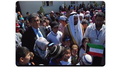 نبيل العون: أنجزنا المخطط النهائي لإنشاء قرية كويتية للأيتام في قرغيزيا